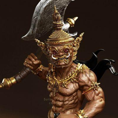 THAILAND 🇹🇭 | Study 3D Thai_Art 🇹🇭