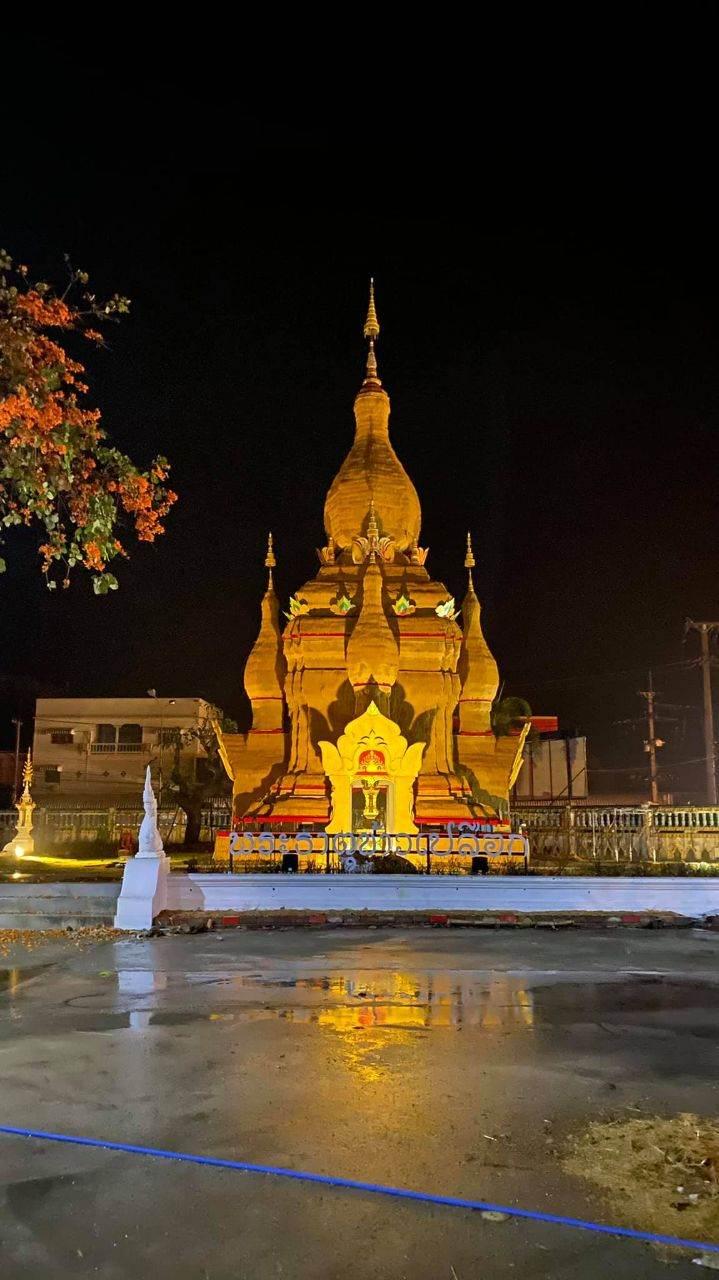 THAILAND 🇹🇭 | พระธาตุข้าวเปลือก วัดทุ่งสนุ่นรัตนาราม ต.ระหาน อ.บึงสามัคคี จ.กำแพชร