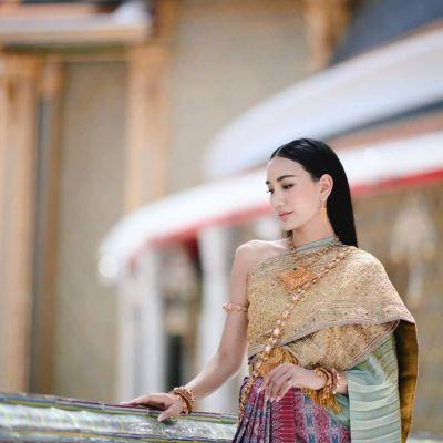 Sbai Thai dress: Thailand 🇹🇭 ชุดไทยจักรพรรดิ