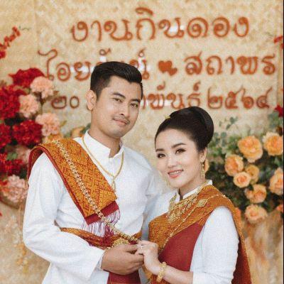 THAILAND 🇹🇭 | ชุดแต่งงานอีสาน(งานกินดอง)