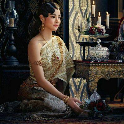 Thailand 🇹🇭 : Sbai Thai dress: Thailand 🇹🇭 ใครใส่แล้วก็สวย