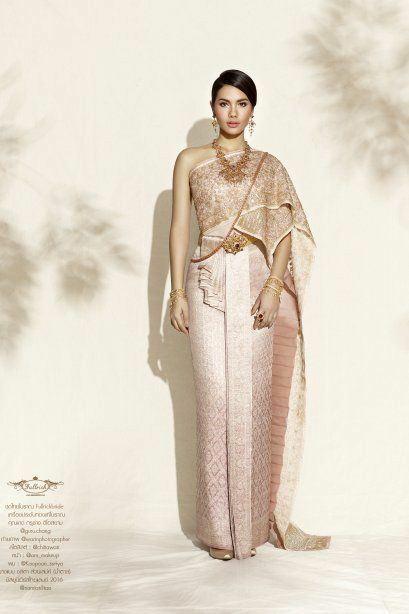 Sbai Thai dress: Thailand 🇹🇭 ชุดไทยดูกี่ทีก็งามสง่า