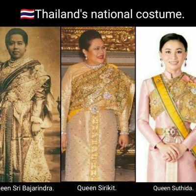 Thailand 🇹🇭 : Sbai Thai dress: Thailand.รวบรวมภาพพระบรมฉายาลักษณ์พระบรมศานุวงศ์ทั้งในอดีตและปัจจุบันในชุดไทยพระราชนิยม