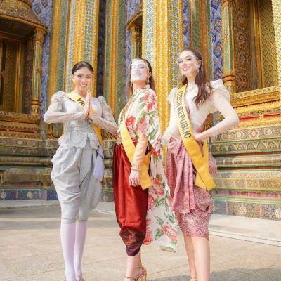 Thailand 🇹🇭 | Miss Grand International Beauty Pageant in Thai dress