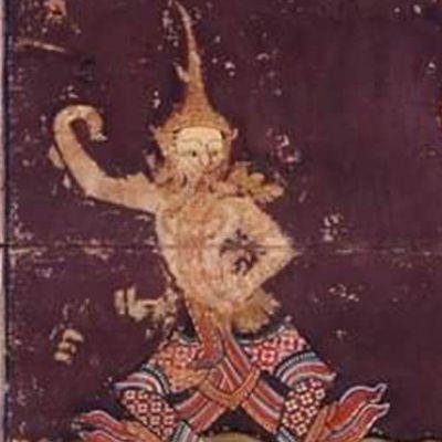 THAILAND 🇹🇭 | ภาพจิตรกรรมเขียนสีฝุ่นปิดทอง บนสมุดไทยขาว ตำรารำสมัยรัชกาลที่ ๑