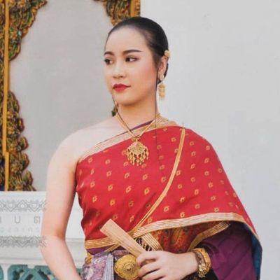The Sbai, Thai dress (สไบ-ชุดไทย) | THAILAND 🇹🇭