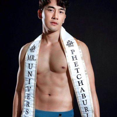 ณัฐพงษ์ มีสมบูรณ์ Mister Universe Thailand 2020
