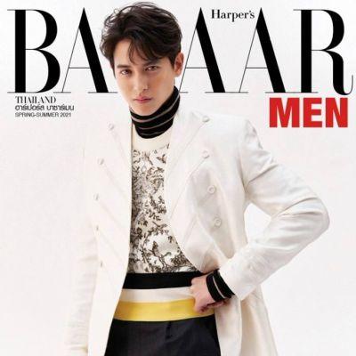 เจมส์ จิรายุ @ Harper's Bazaar Men Thailand S/S 2021