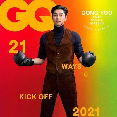 Gong Yoo @ GQ Thailand December 2020-January 2021