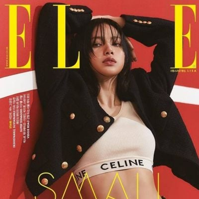 Lisa @ ELLE Korea April 2021