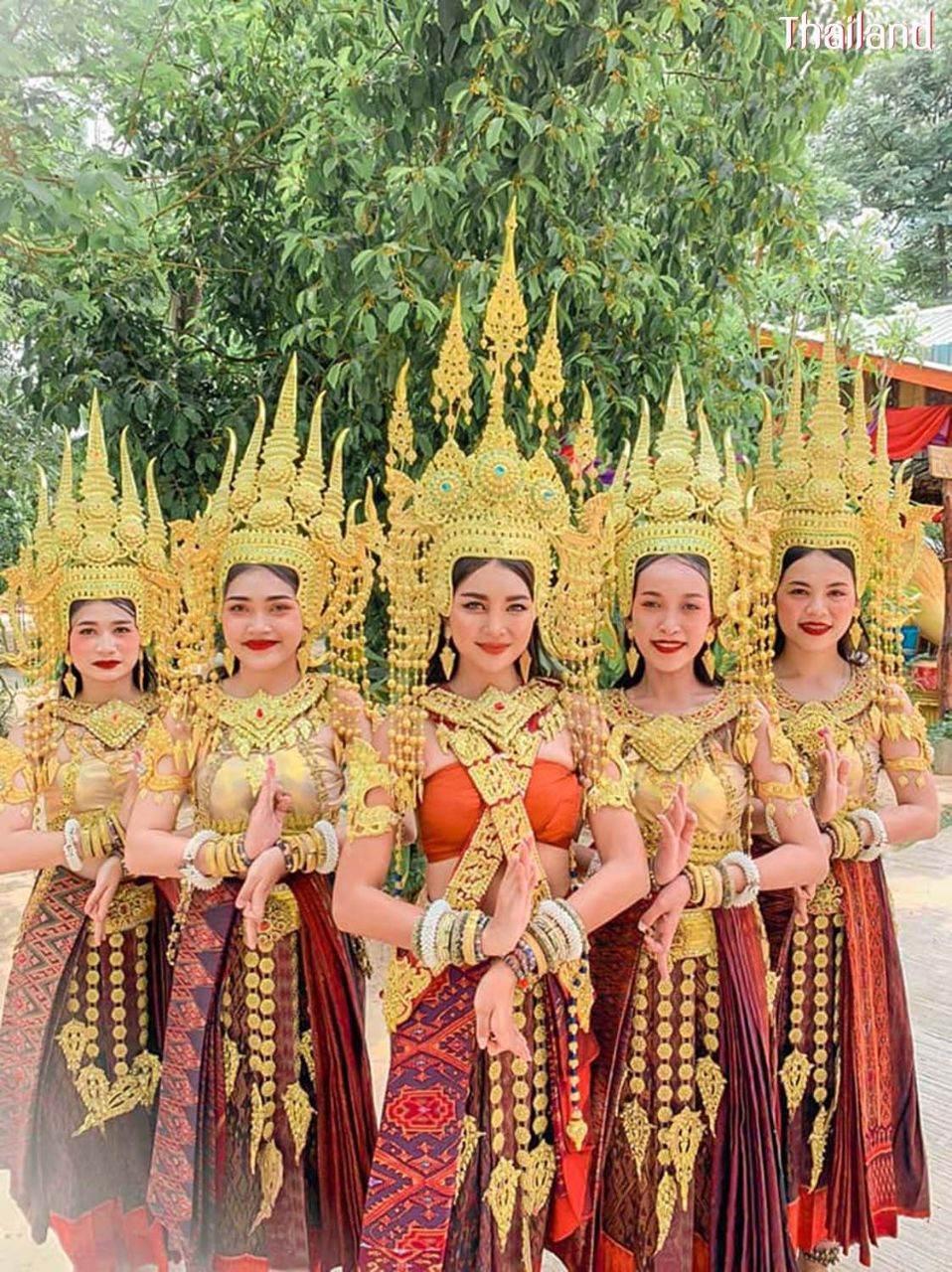 Thai Apsara - Thai Apsorn at Phanomrung Historical Park Buriram Province | THAILAND 🇹🇭