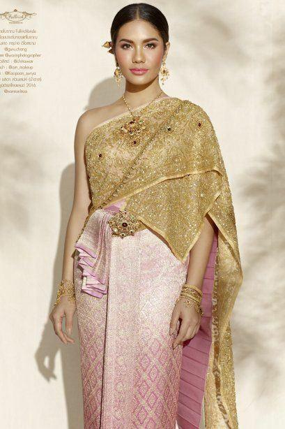 Sbai Thai dress: Thailand 🇹🇭ชุดไทยจักรพรรดิ
