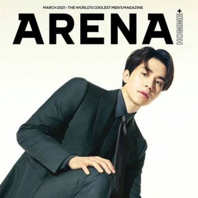 Lee Dong Wook @ Arena Homme Plus Korea March 2021