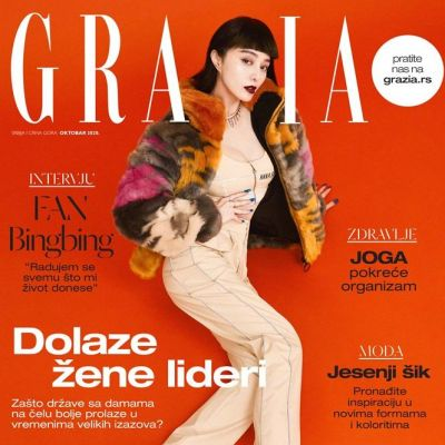 Fan Bing Bing @ Grazia Serbia October 2020