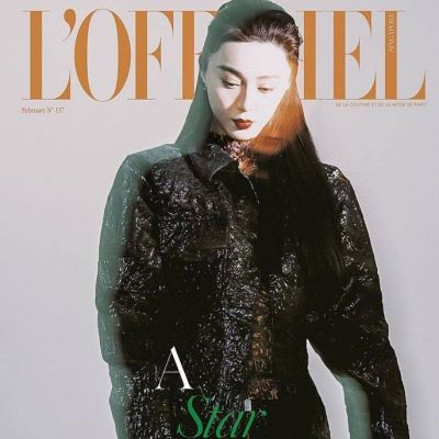 Fan Bing Bing @ L'Officiel Singapore February 2021