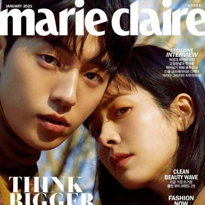 Nam Joo Hyuk & Han Ji Min @ Marie Claire Korea January 2021