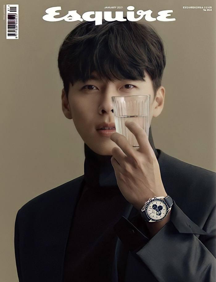 Hyun Bin @ Esquire Korea January 2021