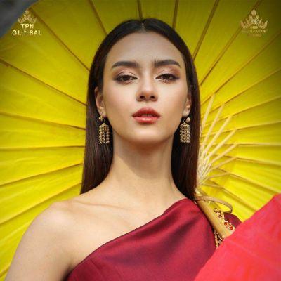 THAI DRESS, ชุดไทย by Amanda Chalisa Obdam, Miss Universe Thailand 2020 | THAILAND 🇹🇭