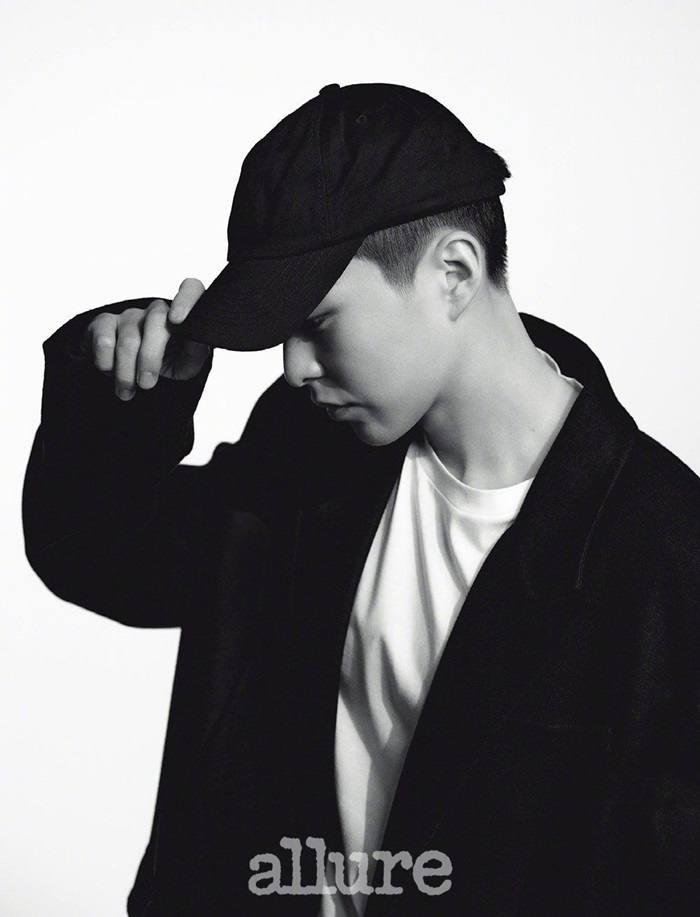 Xiumin @ Allure Korea January 2021