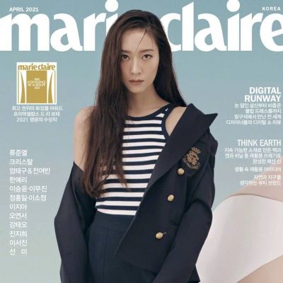 Krystal Jung @ Marie Claire Korea April 2021