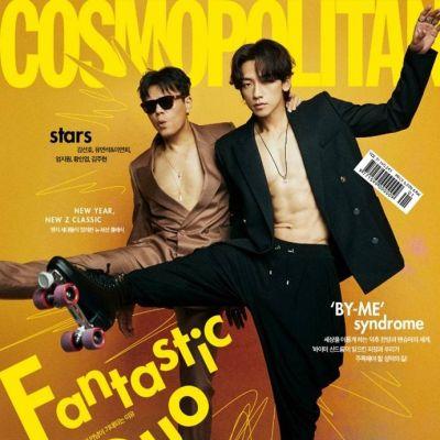 Rain & JYP @ Cosmopolitan Korea January 2021