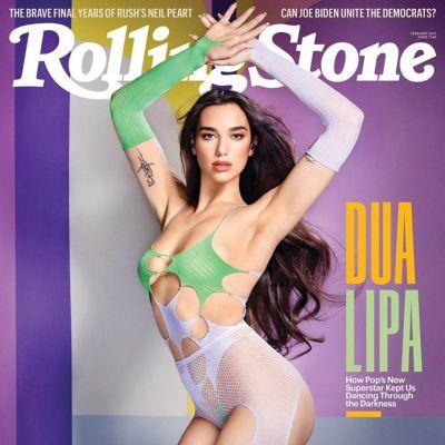 Dua Lipa @ Rolling Stone February 2021