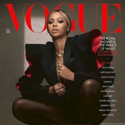 Beyoncé @ Vogue UK December 2020