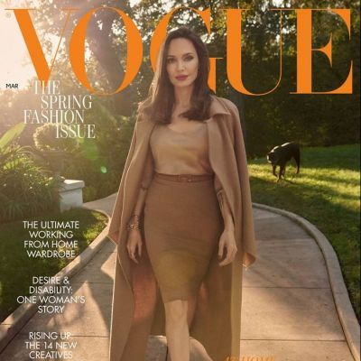 Angelina Jolie @ Vogue UK March 2021