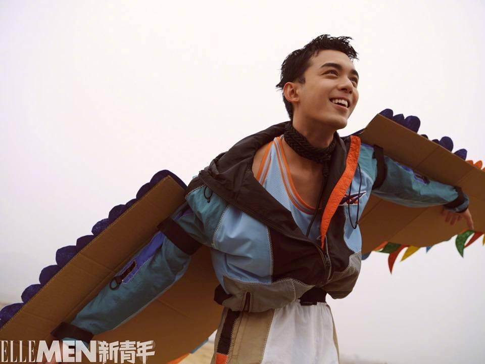 Wu Lei @ ELLE Men Fresh Spring 2021