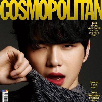 Kang Daniel @ Cosmopolitan Korea October 2020