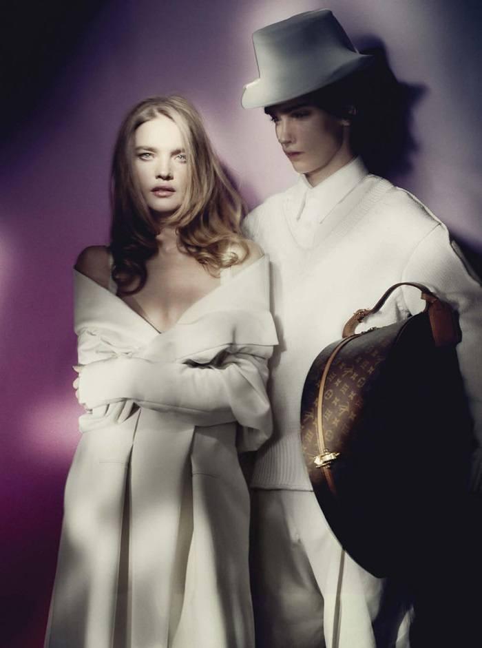 Natalia Vodianova @ Vogue Italia April 2021