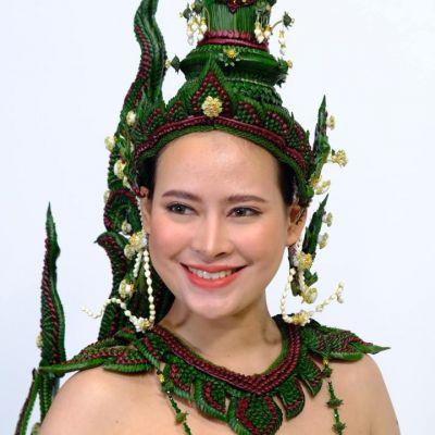 Thai Floral Jewelry  กินรี  | THAILAND 🇹🇭