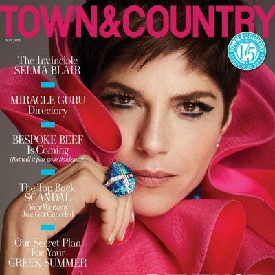 Selma Blair @ Town & Country Magazine May 2021