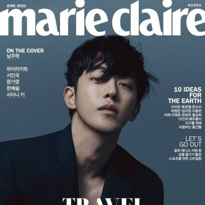 Nam Joo Hyuk @ Marie Claire Korea June 2021