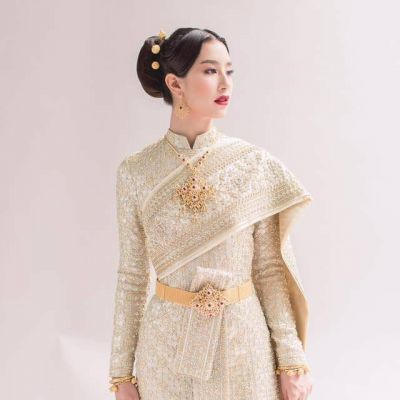 Thailand national costume:🇹🇭Thailand Sbai :ชุดไทยจักรพรรดิ: Sbai Thai dress.
