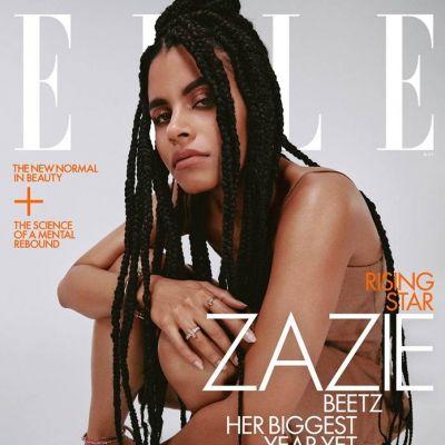 Zazie Beetz @ Elle US May 2021