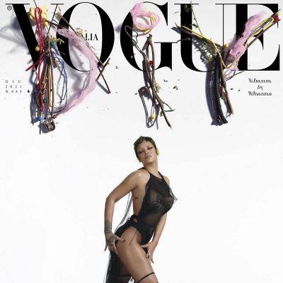 Rihanna @ Vogue Italia June 2021