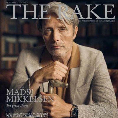 Mads Mikkelsen @ The Rake Magazine June 2021