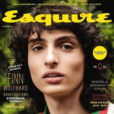 Finn Wolfhard @ Esquire Germany Summer 2021