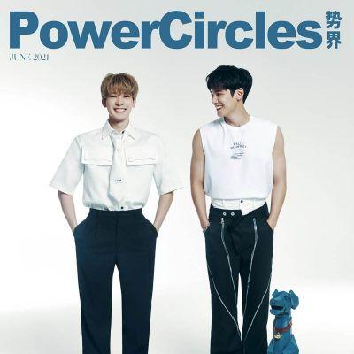 Wonwoo & Mingyu @ PowerCircles Magazine June 2021