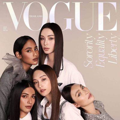 5 สาวข้ามเพศ @ Vogue Thailand June 2021