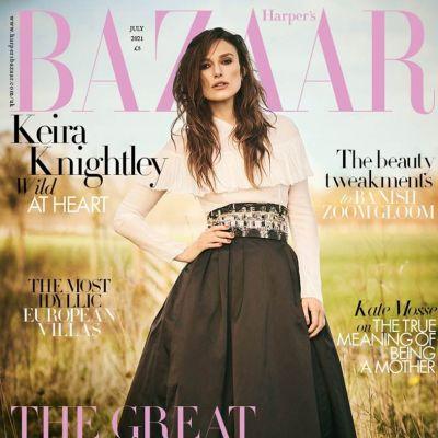 Keira Knightley @ Harper's Bazaar UK July 2021