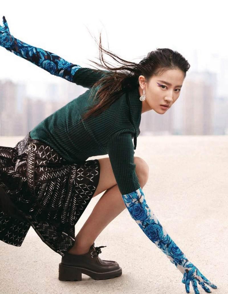 Liu Yifei @ Vogue China June 2021