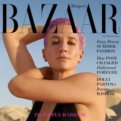Megan Rapinoe @ Harper's Bazaar US June 2021