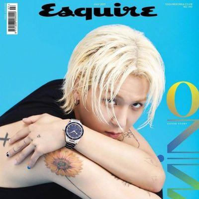Mino @ Esquire Korea July 2021