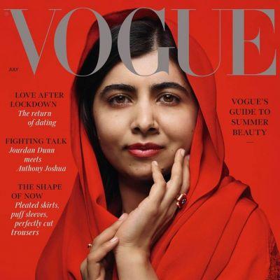 Malala Yousafzai @ Vogue UK July 2021