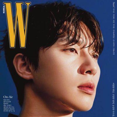 Park Seo Joon @ W Korea July 2021
