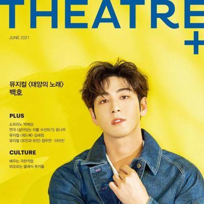 Baekho @ THEATRE+ Magazine Korea June 2021