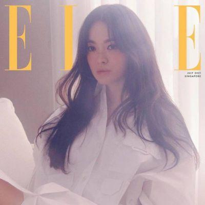 Song Hye Kyo @ Elle Singapore July 2021