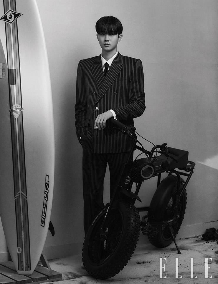 Choi Woo Shik @ Elle Korea July 2021
